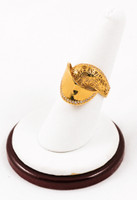 Yellow Gold Ring 21K, YGRING0072, Weight: 0g