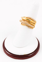 Yellow Gold Ring 21K, YGRING0076, Weight: 9.2g