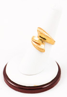 Yellow Gold Ring 21K, YGRING0080, Weight: 5.5g