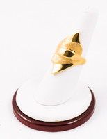 Yellow Gold Ring 21K, YGRING0087, Weight: 8.6g
