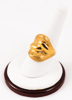 Yellow Gold Ring 21K, YGRING0088, Weight: 8.6g