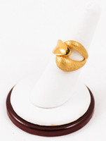 Yellow Gold Ring 21K, YGRING0090, Weight: 7.8g