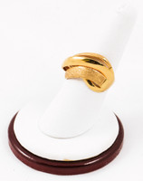 Yellow Gold Ring 21K, YGRING0091, Weight: 9.3g