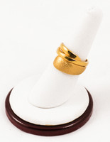 Yellow Gold Ring 21K, YGRING0092, Weight: 0g