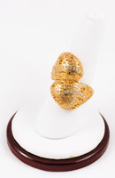 Yellow Gold Ring 21K, YGRING0100, Weight: 5.6g