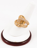 Yellow Gold Ring 21K, YGRING0103, Weight: 0g
