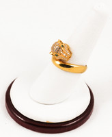 Yellow Gold Ring 21K, YGRING0106, Weight: 0g