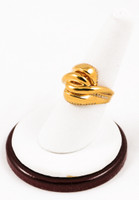 Yellow Gold Ring 21K, YGRING0114, Weight: 0g