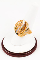 Yellow Gold Ring 21K, YGRING0116, Weight: 0g