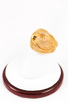Yellow Gold Ring 21K, YGRING0121, Weight: 0g