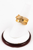 Yellow Gold Ring 21K, YGRING0122, Weight: 0g