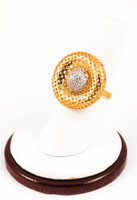 Yellow Gold Ring 21K, YGRING0126, Weight: 8.3g