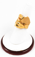 Yellow Gold Ring 21K, YGRING0128, Weight: 0g
