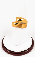 Yellow Gold Ring 21K, YGRING0129, Weight: 10.5g