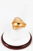 Yellow Gold Ring 21K, YGRING0132, Weight: 0g