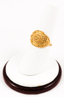 Yellow Gold Ring 21K, YGRING0151, Weight: 3.1g