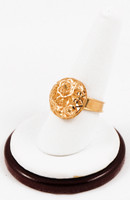 Yellow Gold Ring 21K, YGRING0153, Weight: 0g