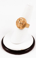 Yellow Gold Ring 21K, YGRING0155, Weight: 0g