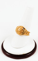 Yellow Gold Ring 21K, YGRING0156, Weight: 0g
