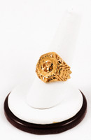 Yellow Gold Ring 21K, YGRING0159, Weight: 0g
