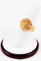 Yellow Gold Ring 21K, YGRING0173, Weight: 0g