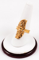 Yellow Gold Ring 21K, YGRING0182, Weight: 0g