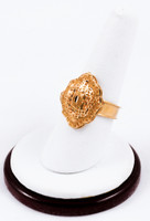 Yellow Gold Ring 21K, YGRING0188, Weight: 0g