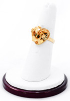 Yellow Gold Ring 21K, YGRING0194, Weight: 4.1g