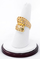 Yellow Gold Ring 21K, YGRING0196, Weight: 5.7g