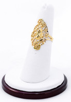Yellow Gold Ring 21K, YGRING0203, Weight: 2.9g