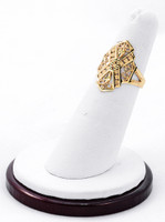 Yellow Gold Ring 21K, YGRING0214, Weight: 0g