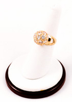 Yellow Gold Ring 21K, YGRING0220, Weight: 0g