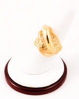 Yellow Gold Ring 21K, YGRING0224, Weight: 0g