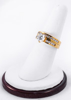 Yellow Gold Ring 18K, YGRING0234, Weight: 8.5g