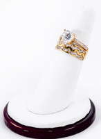 Yellow Gold Ring 18K, YGRING0236, Weight: 8.3g