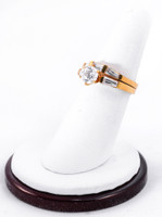 Yellow Gold Ring 21K , YGRING0238, Weight: 7.1g