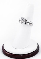White Gold Ring, WGRING0003, Weight: 8