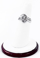 White Gold Ring, WGRING0005, Weight: 7.1