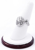 White Gold Ring, WGRING0012, Weight: 4.7