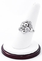 White Gold Ring, WGRING0014, Weight: 4.4