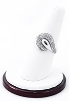 White Gold Ring, WGRING0015, Weight: 5.5