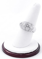 White Gold Ring, WGRING0017, Weight: 11.4