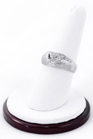 White Gold Ring, WGRING0022, Weight: 4.7
