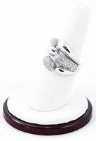 White Gold Ring, WGRING0026, Weight: 7