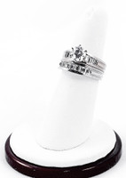 White Gold Ring, WGRING0039, Weight: 11.7