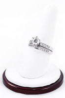 White Gold Ring, WGRING0040, Weight: 0