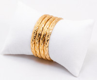 YELLOW GOLD BABY BANGLE, 21K-YGBABY001, Size: Baby, Weight: 28.7g
