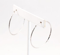 WHITE GOLD EARRING, WGEARRING007, 18K, Weight: 2.7g