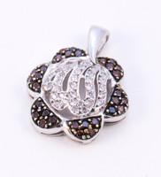 WHITE GOLD PENDANT, WGPEND010, 18K, Weight: 5.8g