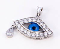 WHITE GOLD PENDANT, WGPEND013, 18K, Weight: 4.5g